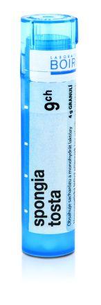 Spongia Tosta CH9 granule 4 g cena od 74 Kč