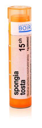 Spongia Tosta CH15 granule 4 g cena od 76 Kč
