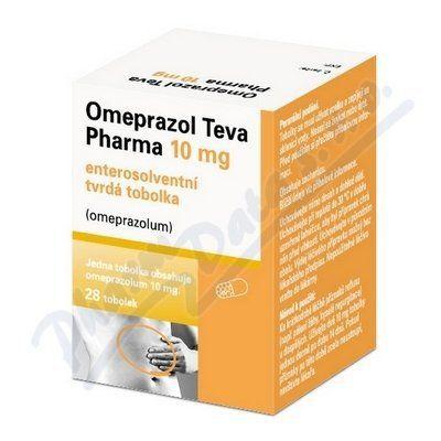 Omeprazol Teva Pharma 10 mg 28 tablet cena od 90 Kč