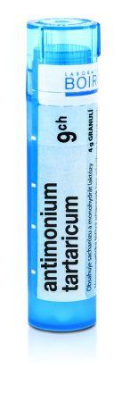 Antimonium Tartaricum CH9 granule 4 g cena od 72 Kč