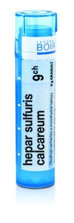 Hepar Sulfuris Calcareum CH9 granule 4 g cena od 72 Kč