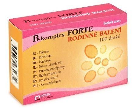 B-komplex Forte 100 tablet