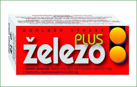 ŽELEZO Plus 60 tablet