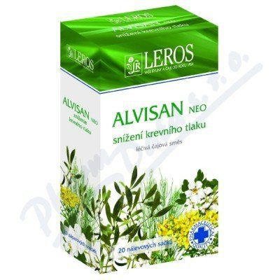 LEROS Alvisan NEO čaj 20x1,5 g