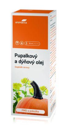 AROMATICA Pupalkový a dýňový olej MERISIN 50 ml