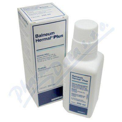 Balneum Hermal Plus 200 ml cena od 135 Kč