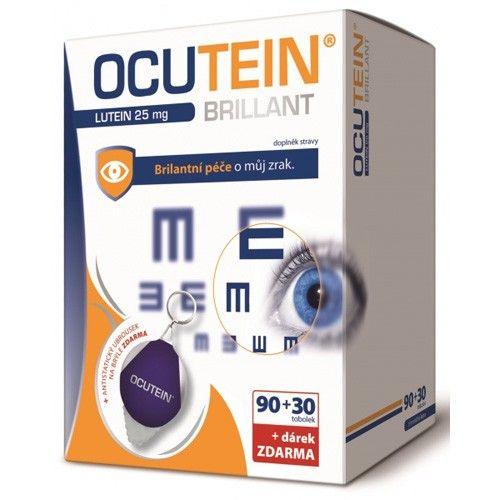 Ocutein Brillant Lutein 25 mg 120 tobolek cena od 261 Kč