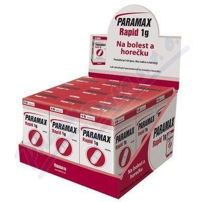 Paramax rapid 1g 9x15x1000 mg cena od 478 Kč