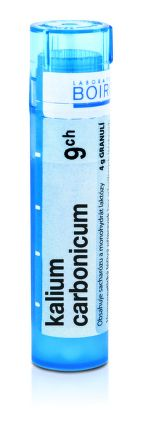 Kalium Carbonicum CH9 granule 4 g cena od 69 Kč
