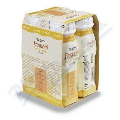 Fresubin original s broskvovou příchutí 4x200 ml cena od 120 Kč