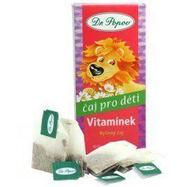 Dr. Popov Čaj Dětský Vitamínek 20x1,5 g cena od 50 Kč