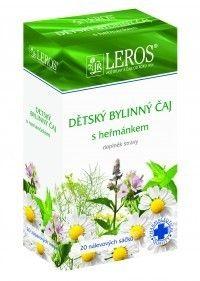 LEROS Dětský bylinný čaj s heřmánkem 20x1,5 g