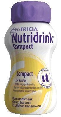 Nutridrink Compact Protein Banán 4x125 ml cena od 187 Kč