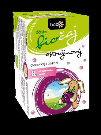 GOLDIM BABIO dětský biočaj ostružinový 20x1,5 g cena od 57 Kč