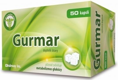 Brainway Gurmar 50 kapslí cena od 197 Kč