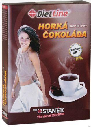 DietLine Horká čokoláda 3 ks