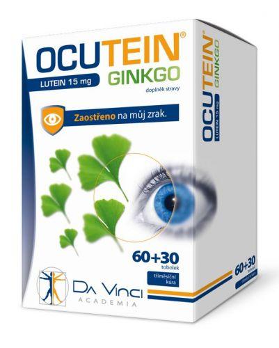 Simply You Ocutein Ginkgo Lutein 15 mg Da Vinci 90 tobolek