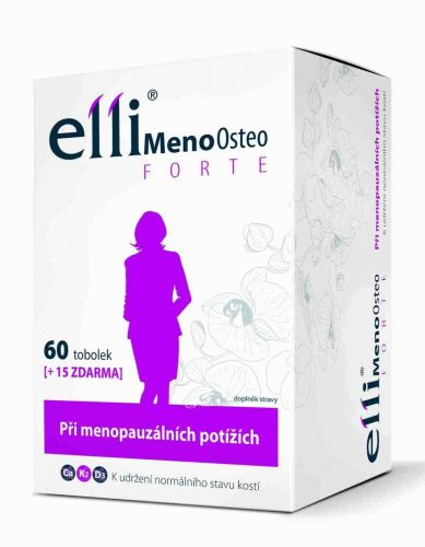 Elli MenoOsteo FORTE 75 tablet cena od 275 Kč
