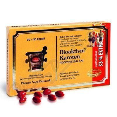 Bioaktivní Karoten 120 kapslí cena od 268 Kč