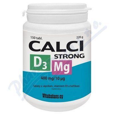 Calci Strong +Mg+D3 150 tablet