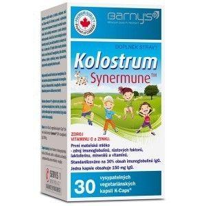 Barnys Kolostrum Synermune 30 tobolek