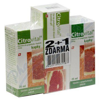 Fytofontana Citrovital 2+1 cena od 248 Kč