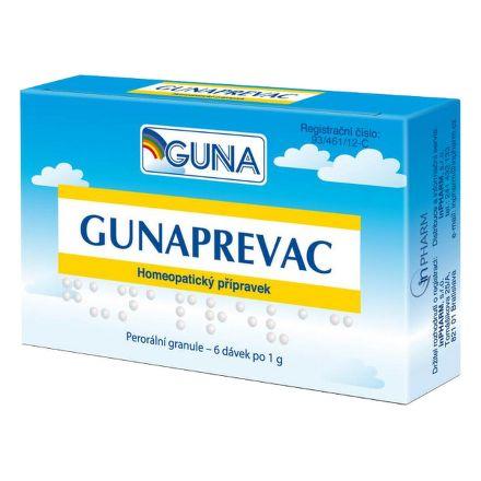 GUNAPREVAC 6 dávek cena od 230 Kč