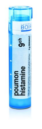 Poumon Histamine CH9 granule 4 g cena od 73 Kč