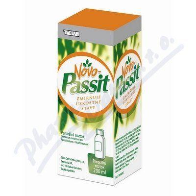 Novo-passit 200 ml cena od 110 Kč