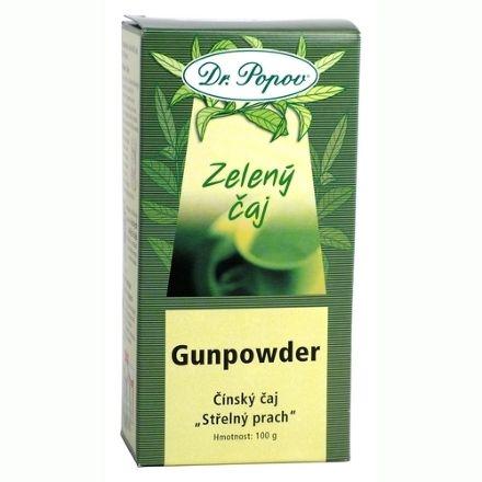 Dr. Popov Čaj Gunpowder zelený 100 g