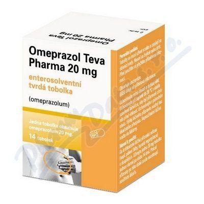 Omeprazol 20 mg 14 tobolek cena od 63 Kč