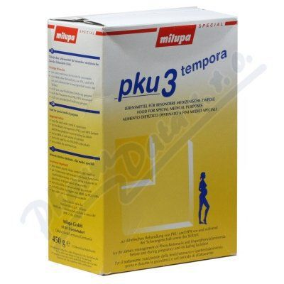 Milupa PKU 3 Tempora 10x45 g cena od 0 Kč