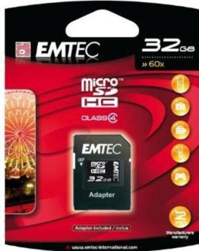 EMTEC Micro SDHC Class 4 32 GB