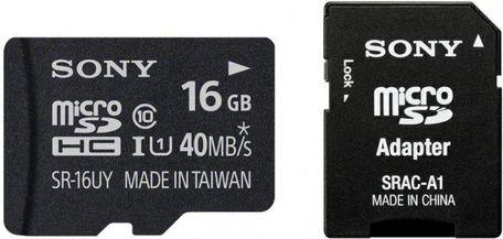Sony micro SDHC Class10 16 GB cena od 283 Kč