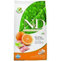 N&D Grain Free DOG Adult Mini Fish & Orange 7 kg cena od 1299 Kč