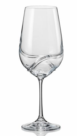 Crystalex TURBULENCE Sklenice na víno 550 ml cena od 159 Kč