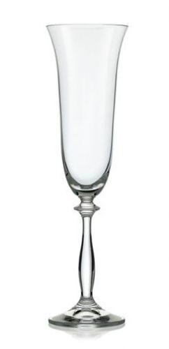 Crystalex Angela Sklenice na šumivé víno 190 ml