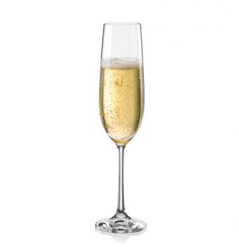 Crystalex Viola Sklenice na šumivé víno 190 ml cena od 360 Kč