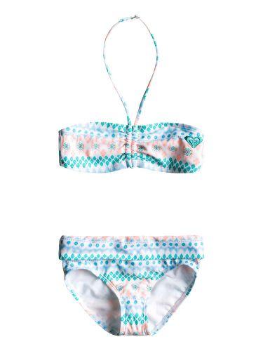 ROXY DRAWSTRING BANDEAU SET WBS7 plavky