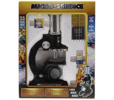 Alltoys Mikroskop 100/200/450x cena od 399 Kč