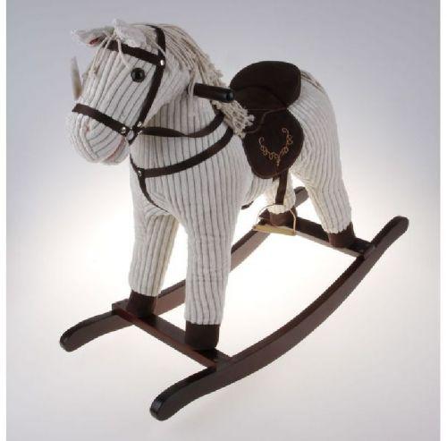 Alltoys Houpací manšestrový kůň cena od 1201 Kč