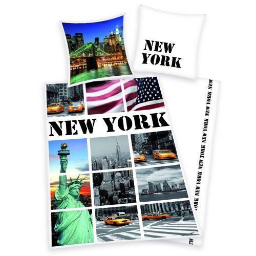 Herding New York pohlednice povlečení