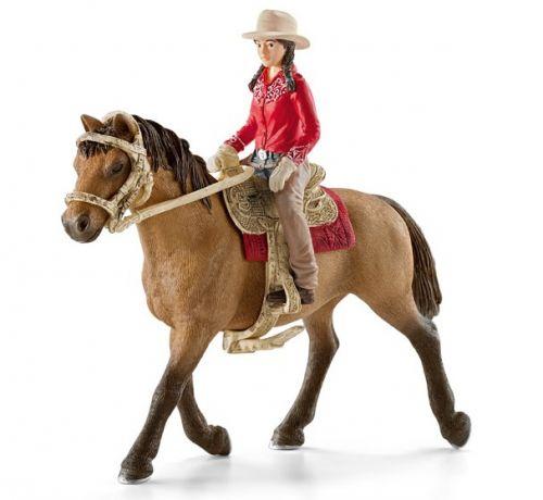Schleich Westernová jezdkyně na koni cena od 342 Kč