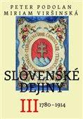Peter Podolan: Slovenské dejiny III cena od 321 Kč