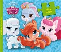 Walt Disney: Palace Pets - Kniha puzzle cena od 125 Kč