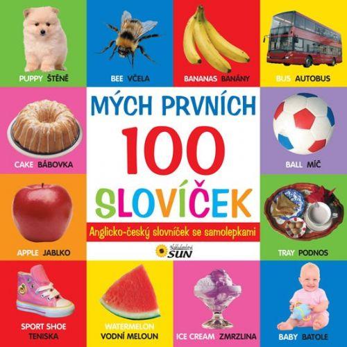 SUN Mých prvních 100 slovíček anglicko - český slovník cena od 60 Kč