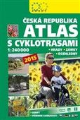 Atlas ČR s cyklotrasami 2015 cena od 121 Kč