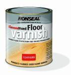 Ronseal Diamond Hard Floor Varnish podlahový lak bezbarvý lesk 2,5 L