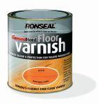 Ronseal Diamond Hard Coloured Floor Varnish podlahový lak polomat buk 2,5 L