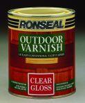 Ronseal Outdoor Varnish venkovní lak pololesk 0,25 L
